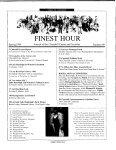 The Churchill Center Report - Winston Churchill - Page 3