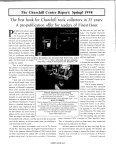 The Churchill Center Report - Winston Churchill - Page 5