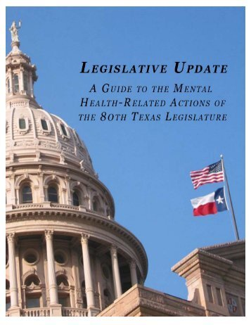 Legislative Update - Hogg Foundation for Mental Health