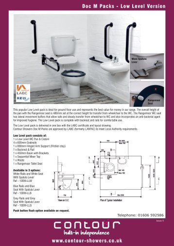 Download Product Information - Contour Showers