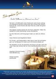 """Herzlich Willkommen im """"Restaurant zum Löwen""""! - Hotel Bodensee"""