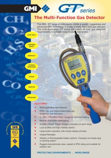 The Multi-Function Gas Detector - Gas Sensor Innovation