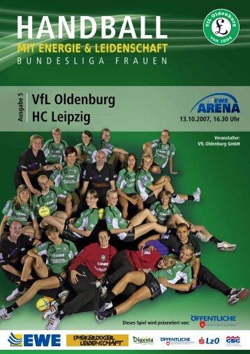 VfL Oldenburg HC Leipzig