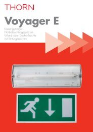 Voyager E Wand - Thorn