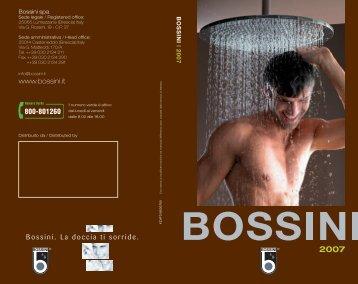 www.bossini.it Bossini. La doccia ti sorride.