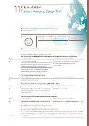 E.R.N. Umweltbericht - ERN Elektro-Recycling NORD GmbH
