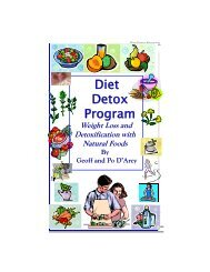 Diet Detox Booklet - True-Wellness
