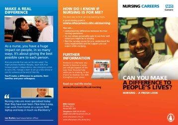 Download PDF - NHS Nursing Careers - NHS Careers
