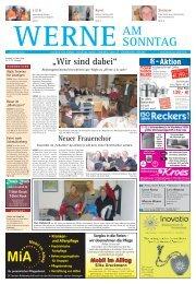 Zeitung FüR WERNE, Stockum, horst ... - Werne am Sonntag