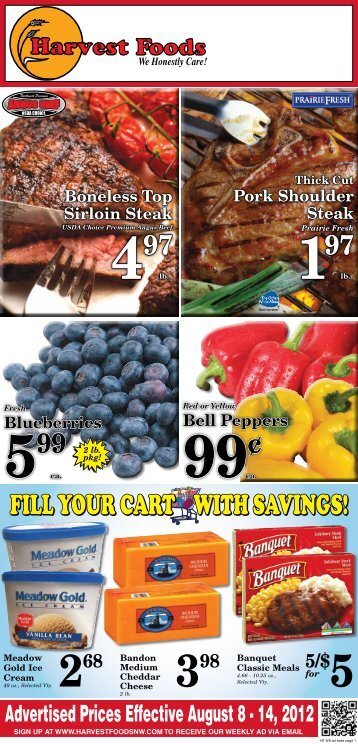 FILL YOUR CART WITH SAVINGS! - URM Stores, Inc.