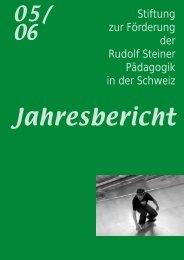 Jahresbericht Stiftung - Schulkreis