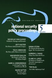 Download the PDF - Center for Security Policy