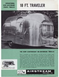 18 FT. TRAVELER - Airstream