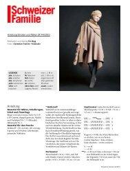 Strickanleitung herunterladen (pdf) - Schweizer Familie