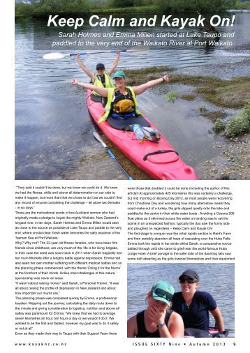 Keep Calm and Kayak On! - New Zealand Kayak Magazine
