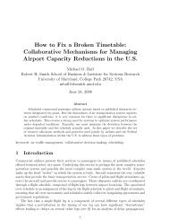 How to Fix a Broken Timetable: Collaborative Mechanisms for ...