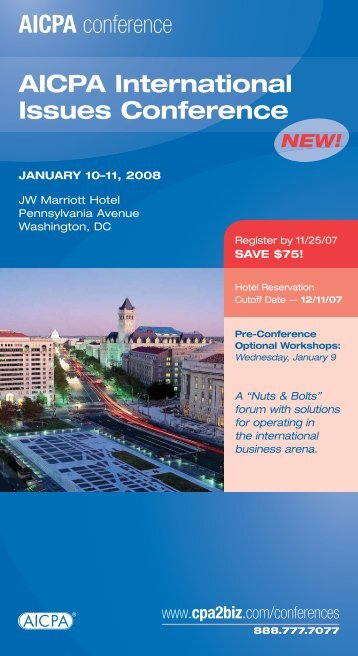 AICPA conference - Miller & Chevalier