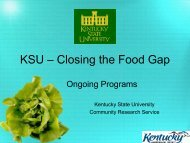 568 Kb pdf - Kentucky State University Organic Agriculture Working ...