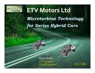 ETV Motors Ltd
