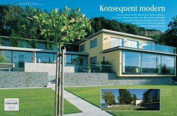 Konsequent modern - Grünplan GmbH