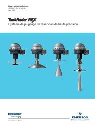 TankRadar Rex - Rosemount Tank Radar