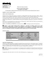 P81132 N Sheet 1 of 4 273 Branchport Ave ... - Cooper Industries