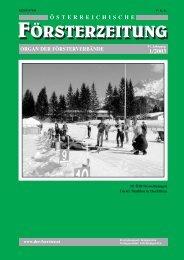 Ausgabe 1/2003 - Der Verband Österreichischer Förster