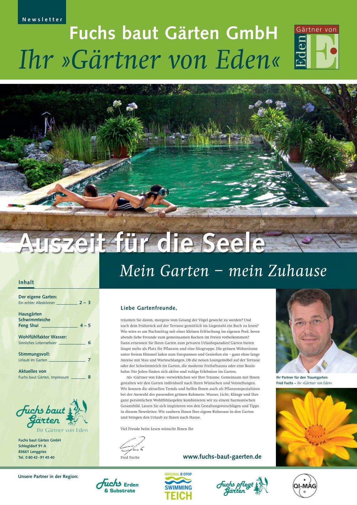 Fuchs Baut Gärten 2 free magazines from fuchs baut gaerten de