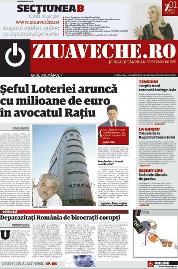 Şeful Loteriei aruncă cu milioane de euro în avocatul ... - Ziua Veche
