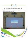 Préconisation TBI avec support Adjust-it - eInstruction - Page 7