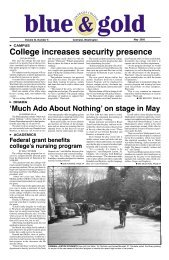 Volume XI Number 5 May 2005.indd - Centralia College