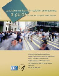 Population Monitoring Guide - Oak Ridge Institute for Science and ...