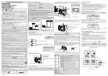 sistema inversor múltiplo unidade exterior manual de instalação
