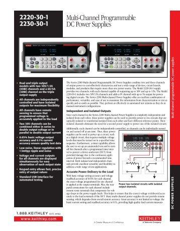 Multi-Channel Programmable DC Power Supplies - Helmar