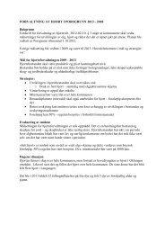 Forvaltning hjort 2013 - 2018.pdf - Porsgrunn Kommune