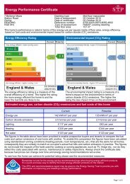 Energy Performance Certificate - Warmingham