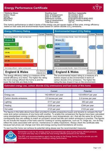 Energy Performance Certificate - Warmingham