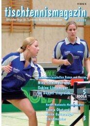 tischtennismagazin 2/2003 - TTVN