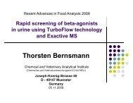 Thorsten Bernsmann - Thermo Scientific