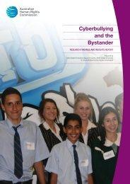 Cyberbullying and the Bystander - Bullying - Australian Human ...
