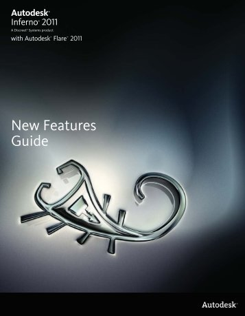 Inferno with Flare New Features Guide - Autodesk