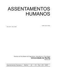 ASSENTAMENTOS HUMANOS - Unimar