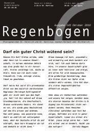 Regenbogen Oktober 2010 - St. Heinrich