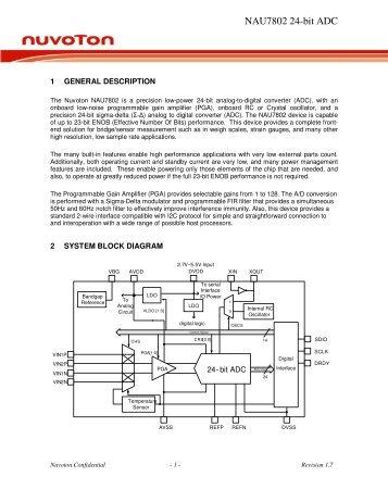 NAU7802 24-bit ADC - ChipCAD