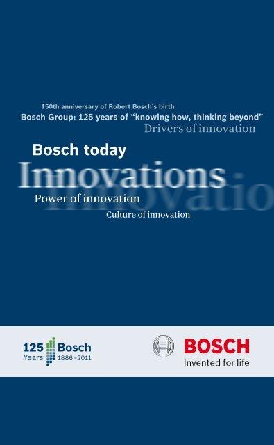 A œbosch Todaya Brochure Pdf Bosch Career