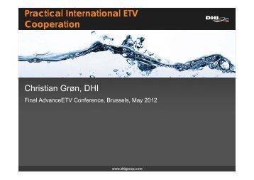 Practical International ETV Cooperation - Advanceetv