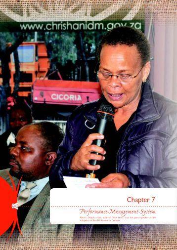 Chapter 7 - Chris Hani District Municipality