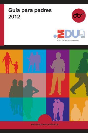 Guía para padres 2012 - Comunidad de Madrid