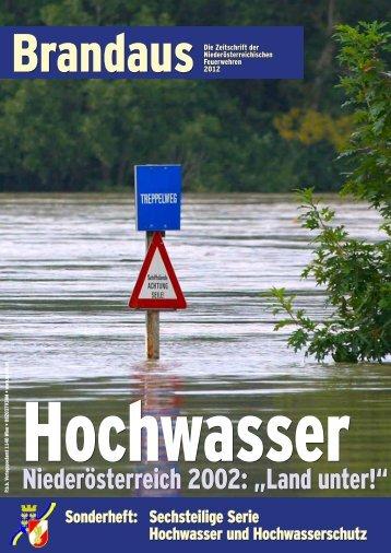 Infos zum Hochwasserschutz - 144 Notruf Niederösterreich
