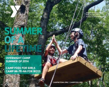 CAMP MI-TE-NA! - YMCA of Greater Manchester